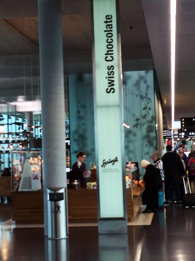 Swiss Chocolate Airport