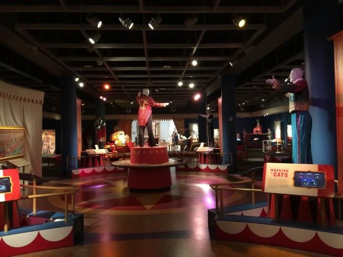 Circus museum floor