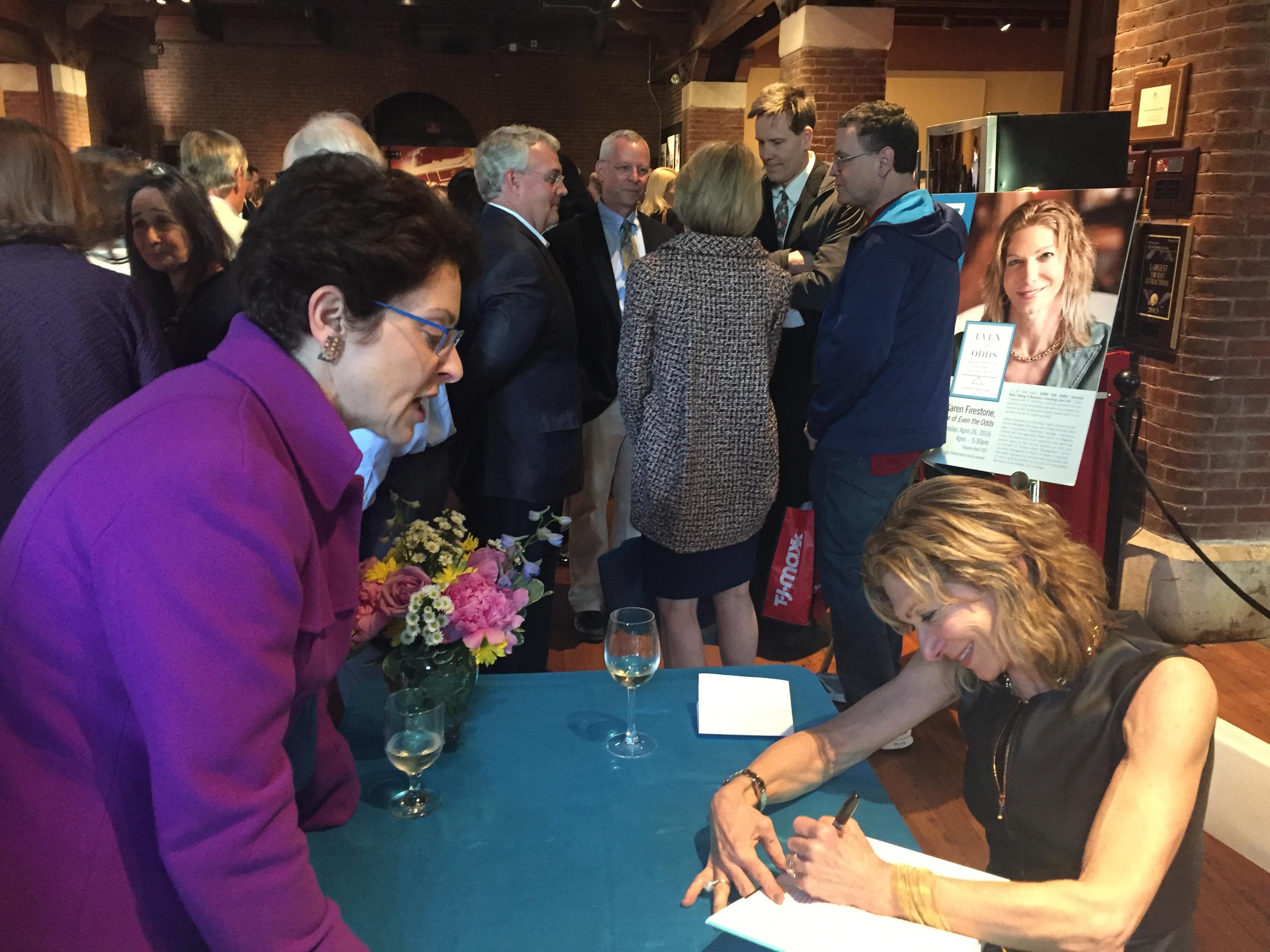 Karen Firestone Book Signing Event