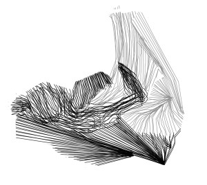 Debris/détritus, sound sketch, digital drawing, 2012