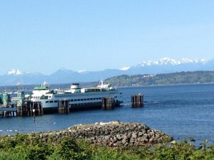 Edmonds Ferry to Kingston, WA