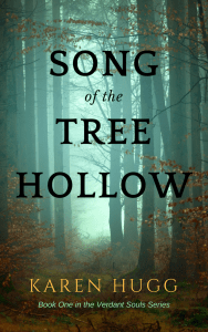 Song of the Tree Hollow Book, Karen Hugg, https://www.amazon.com/Song-Tree-Hollow-Verdant-Souls-ebook/dp/B07KBVWVWP #book #novel #mystery #Seattle #tree #plantwhisperer