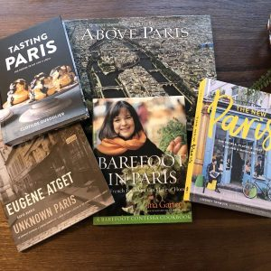 Five Fantastic Books to Help You Dream About Paris, Paris Gift Books, Karen Hugg, https://karenhugg.com/2018/12/15/books-about-paris/ #books #Paris #France #InaGarten #EugeneAtget #TheNewParis #food #cooking