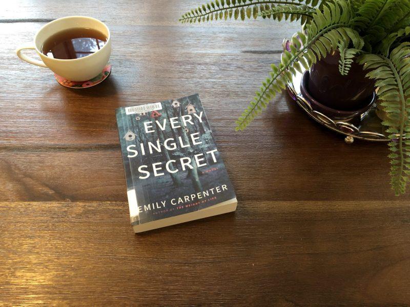 Every Single Secret by Emily Carpenter, book cover, a book review by Karen Hugg, https://karenhugg.com/2018/10/02/every-single-secret/ #books #EverySingleSecret #EmilyCarpenter #novels #bookreviews