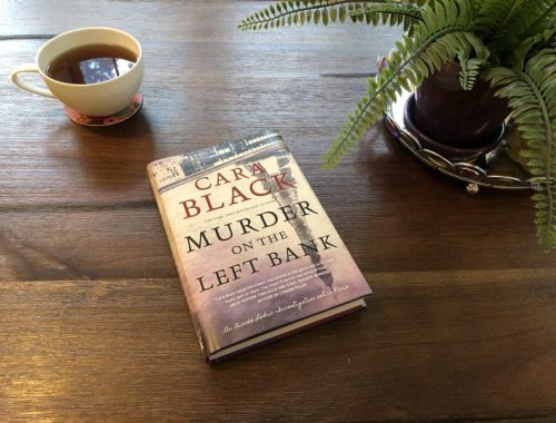 Murder on the Left Bank Left Me Breathless, Karen Hugg, https://karenhugg.com/2019/01/09/murder-on-the-left-bank #MurderontheLeftBank #CaraBlack #books #novel #Paris #mystery #crimefiction #detective #thriller