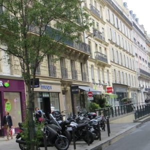 In Search of the Perfect Street in Paris, Karen Hugg, https://karenhugg.com/2019/03/14/perfect-street-in-paris #Paris #street #RueSaintPlacide #TheForgettingFlower #novels #books #KarenHugg