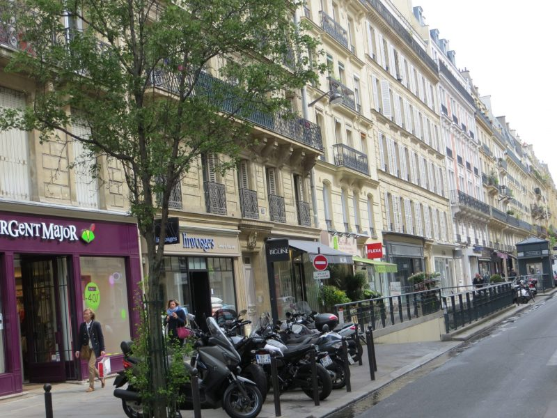 In Search of the Perfect Street in Paris, Karen Hugg, https://karenhugg.com/2019/03/14/perfect-street-in-paris #Paris #street #RueSaintPlacide #TheForgettingFlower #novels #books #KarenHugg