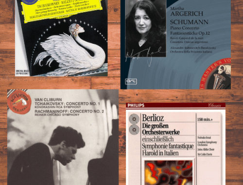 Classical Music CDs, The Characters and Their Music in The Forgetting Flower Part 1, Karen Hugg, https://karenhugg.com/2019/04/12/characters-music-1/ #TheForgettingFlower #books #novels #classicalmusic #music #thrillers #Rachmaninoff #Schumann #Tchaikovsky #Berlioz
