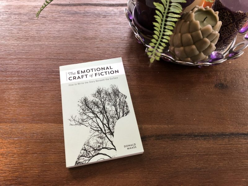Emotional Craft of Fiction Book, The Best Book on Writing Emotion in Fiction, Karen Hugg, https://karenhugg.com/2019/05/30/emotion-in-fiction, #emotioninfiction #fiction #novel #books #writing #craft #DonaldMaass #emotion