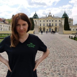 Branicki Palace, Poland, Where in the World Is The Forgetting Flower T-shirt? Poland, Karen Hugg, https://karenhugg.com/2019/06/13/t-shirt-poland #Poland #Bialystok #BranickiPalace #TheForgettingFlower #books #travel