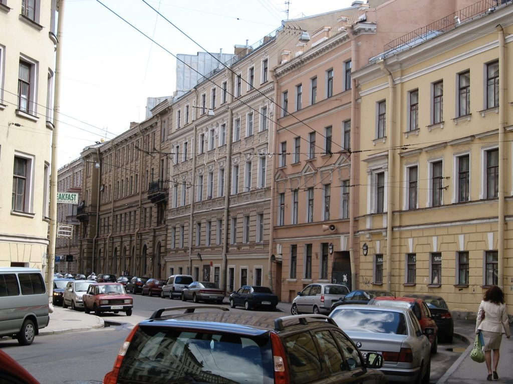 St. Petersburg, Russia, How an Odd Stain on a Russian Sidewalk Inspired My Novel, Karen Hugg, https://karenhugg.com/2019/06/18/sidewalk-russia/ #Russia #StPetersburg #crime #blood #fiction #sidewalk #books #novels