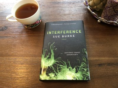 Interference, Sue Burke, Karen Hugg, www.karenhugg.com #giveaway #sci-fi #sciencefiction #books #novels #free #SueBurke