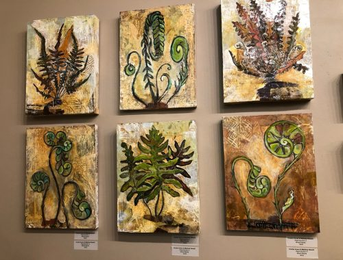 Plant Paintings, These Plant Paintings Made My Stress Magically Disappear, Daily Stress ReLeaf, Karen Hugg, https://karenhugg.com/2021/03/05/plant-paintings/ #plant #paintings #art #dailystressreleaf #stress #destressing #Northwest #CindraAvery #MelissaNewell