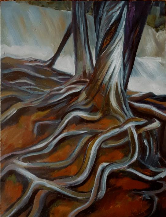 Cedar Trees, Karen Huss