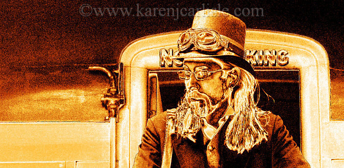 Waiting on the train_opyright2014KarenCarlisle