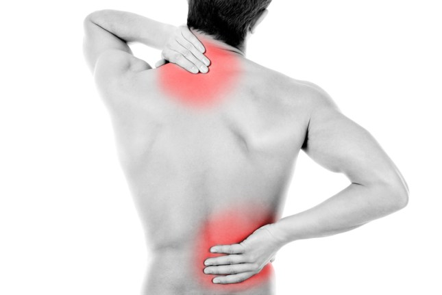 pain in neck and back
