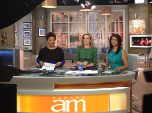 Canada AM with Marice Ien and Marcie Mc Millian