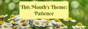 Heartwings Front Porch Bible Study Series This Month's Theme Patience