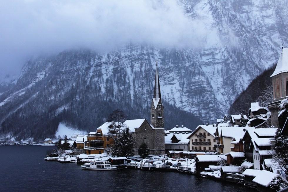 The last time I was in Hellstatt it was winter - brrr!