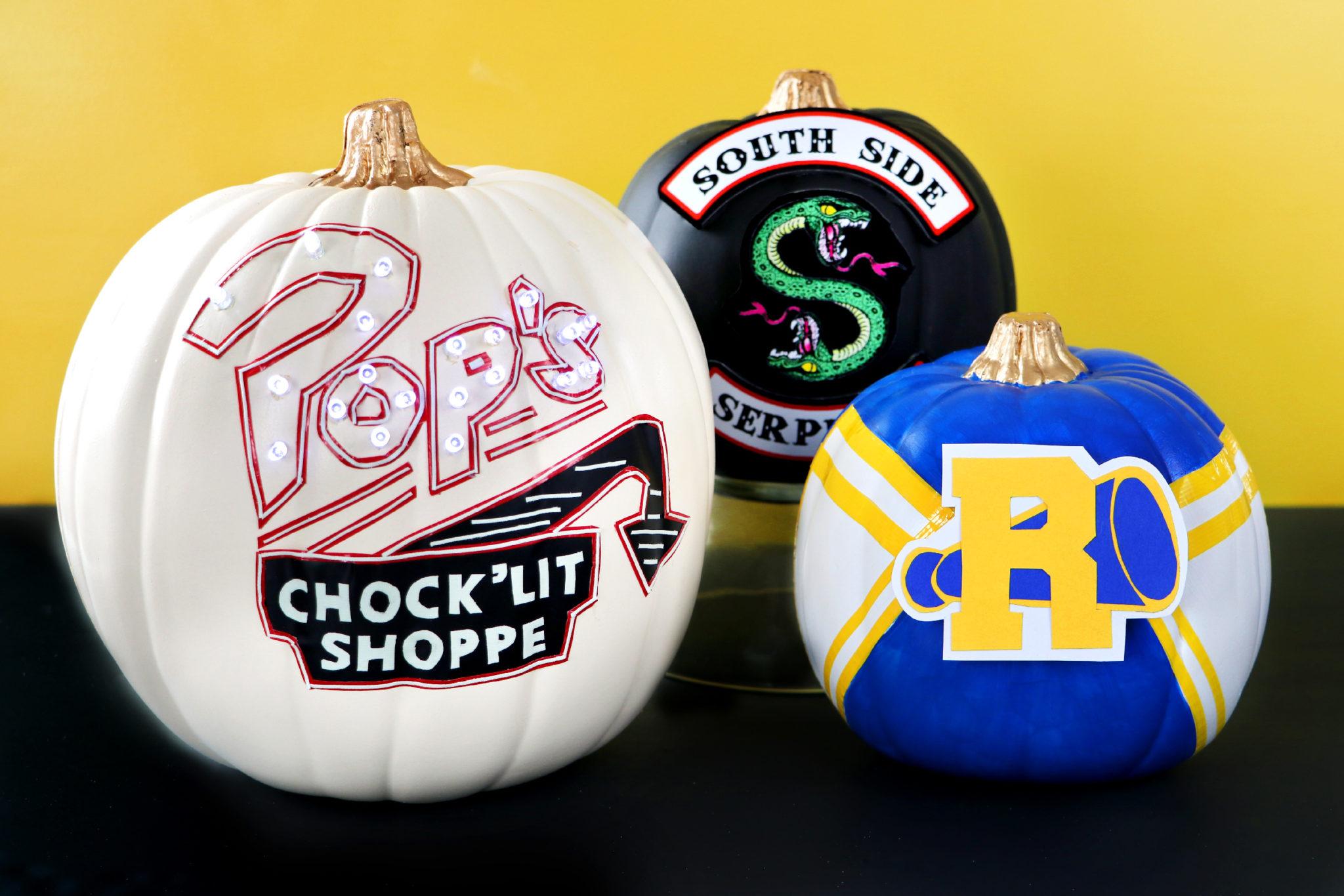 DIY Riverdale Pumpkins For Halloween Karen Kavett