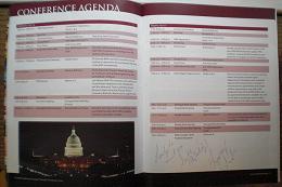 RWA 09 program, signed 2