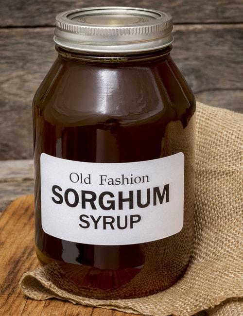 Sorghum Syrup Jar
