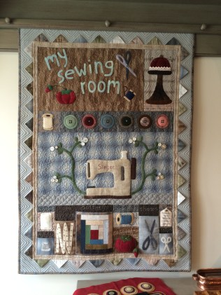 My Sewing Room Wallhanging