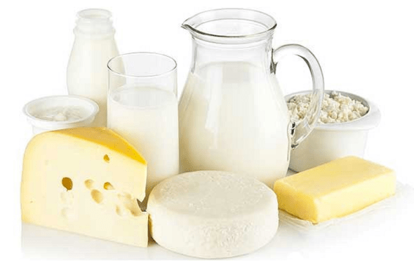 whole fat dairy