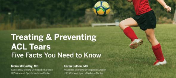 ACL injuries Dr. Karen Sutton