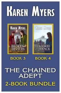Image of book cover for The Chained Adept Bundle (3-4)