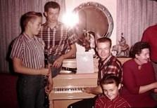 CLYDE GUTKE FAMILY CHRISTMAS 1958 #3