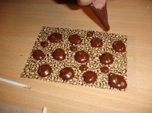 chocolate buttons transfer