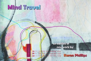 Mind Travel Postcard - image by Karen Phillips