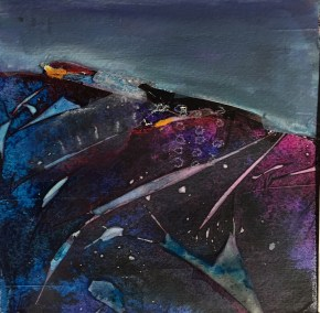 Abstract Landscape 2 by Karen Phillips