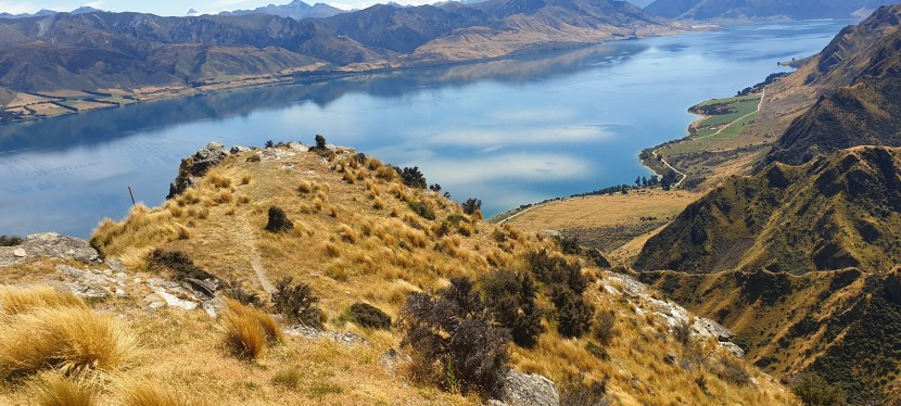 Day 127 to 130. 16 Feb. Highlight of the TA.  Lake Hawea and Wanaka