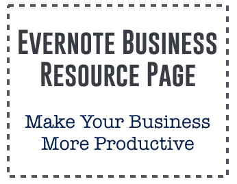 Evernote Business Resource Page