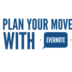 Plan your house move with Evernote