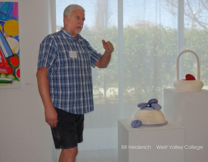 Bill Heiderich Ceramics at ArtArk Gallery