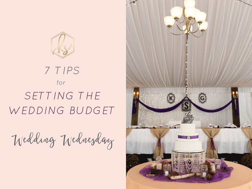 7 Tips for Setting a Wedding Budget by Karen Shoufler Photography