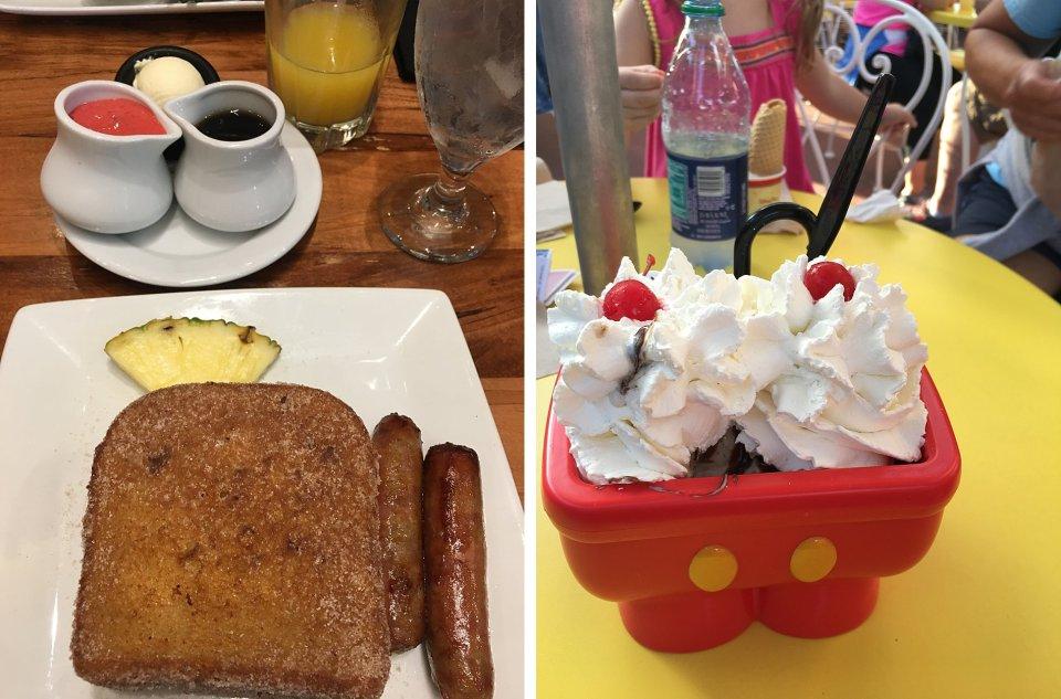 Snacking at Disney