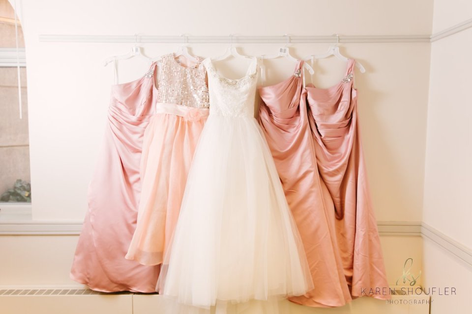 Bridal Gown & Bridesmaids Dresses at Evelyn Chapel