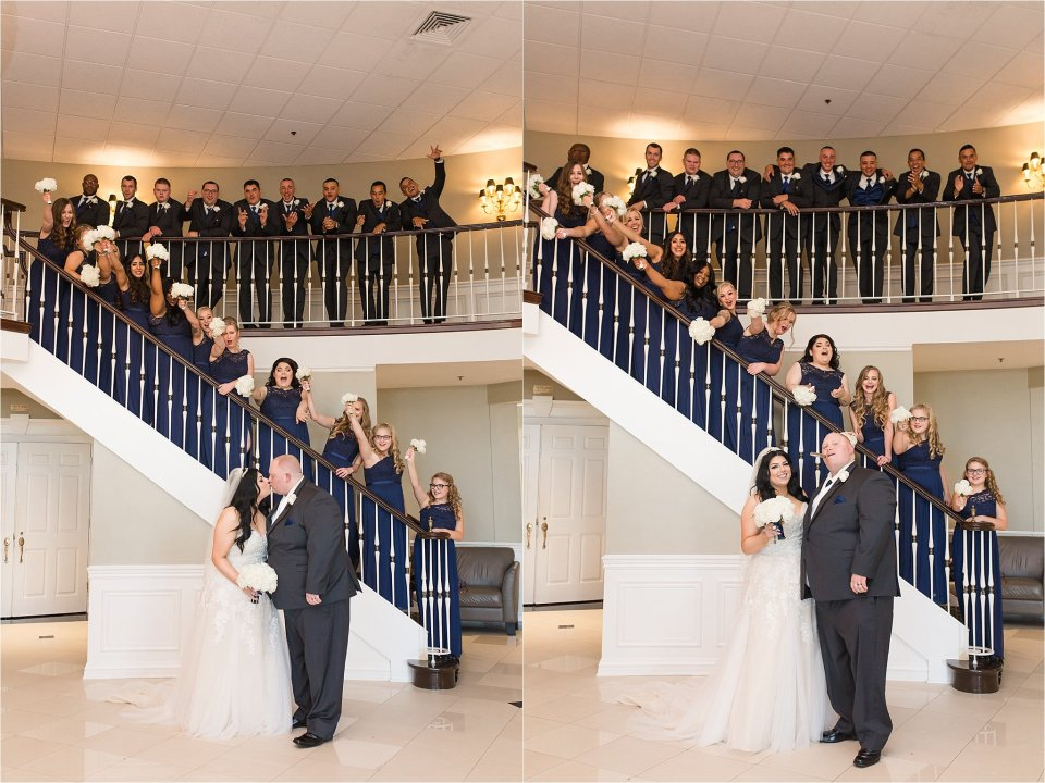 Wedding Party at Tuscany Falls in Tinley Park by Karen Shoufler Photography