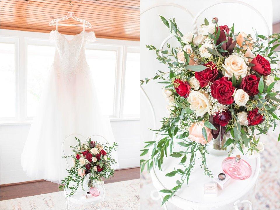 Bridal details at Heitman House in Ft Myers, Florida wedding