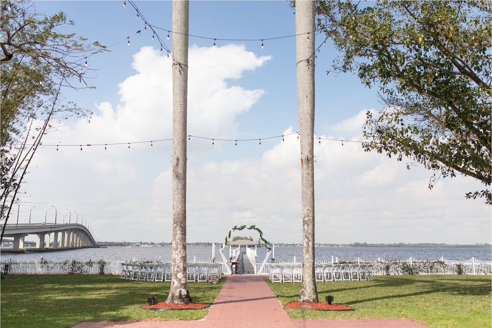 Heitman House in downtown Ft Myers, Florida wedding venue