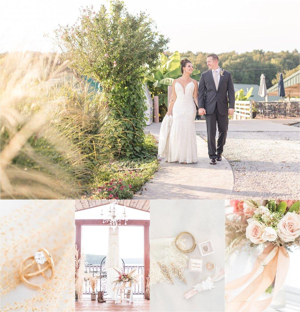 Beautiful wedding details at Egyptian Hills Resort Wedding