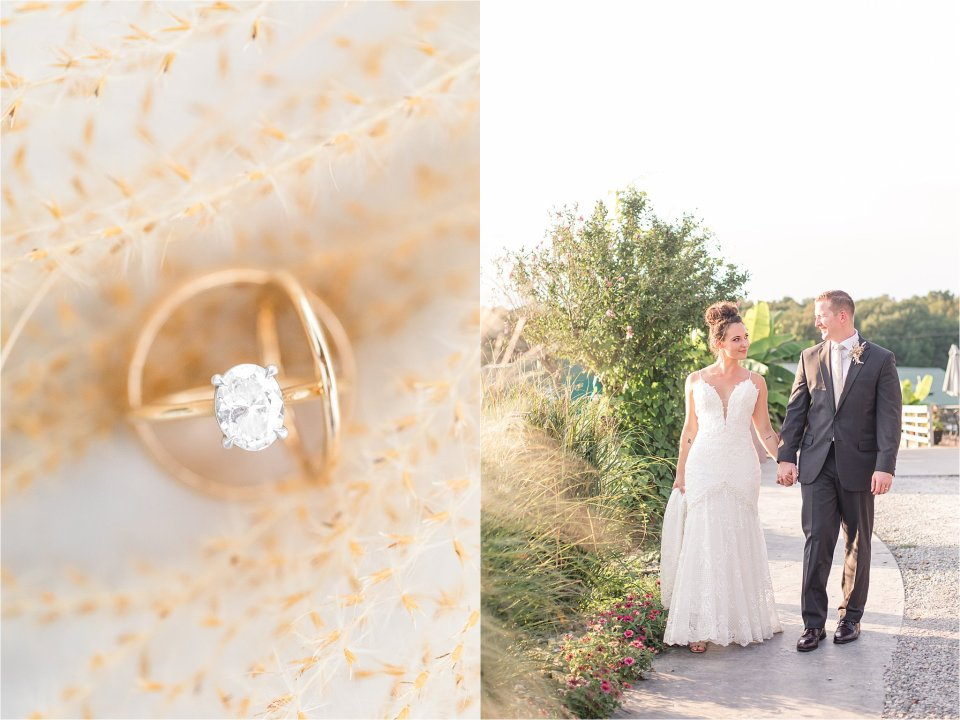 Boho Wedding details at Egyptian Hills Resort in Southern Illinois