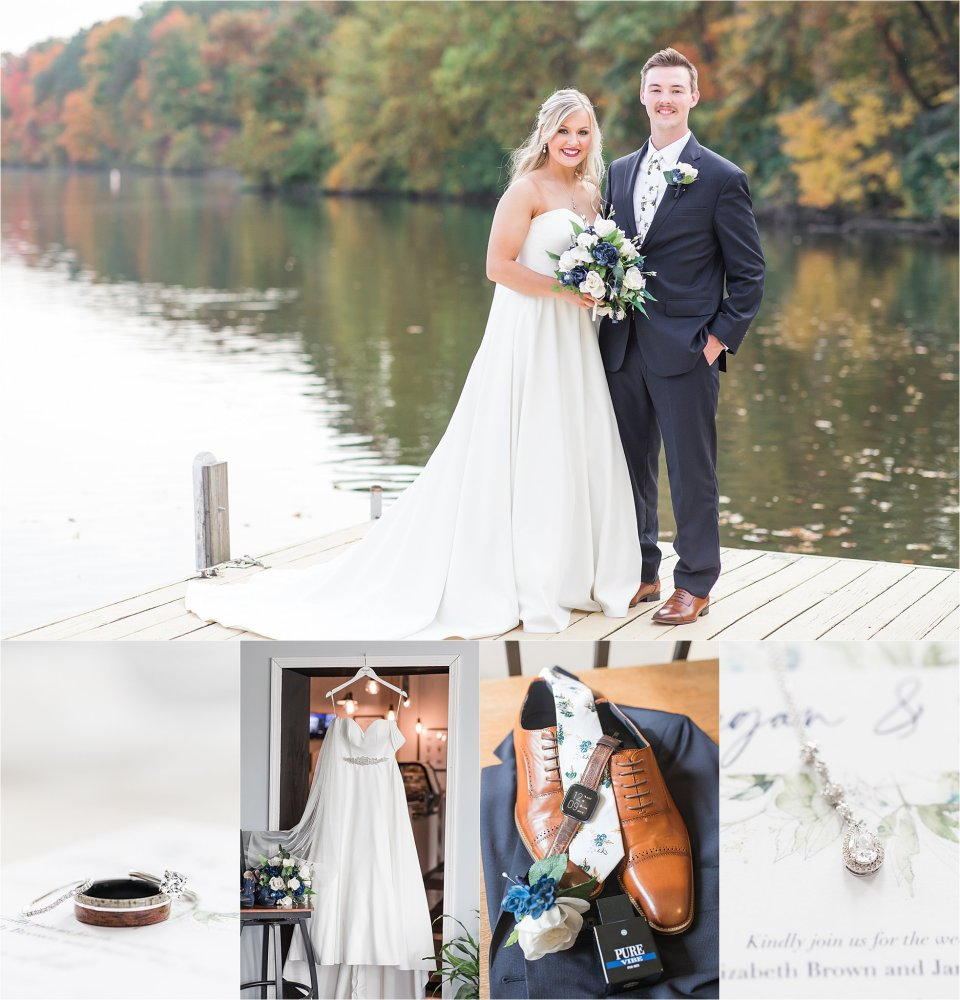 Fall wedding in Danville by Karen Shoufler