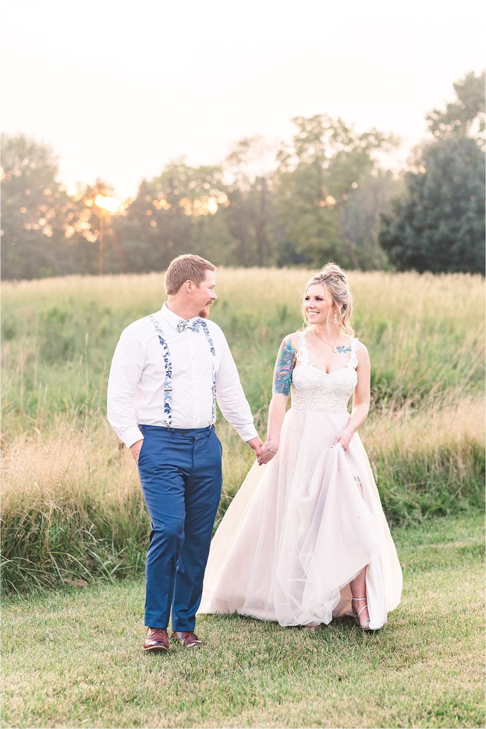 Central Illinois Wedding at Sugar Creek Barn