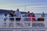 Ferry ride to Swan's Island