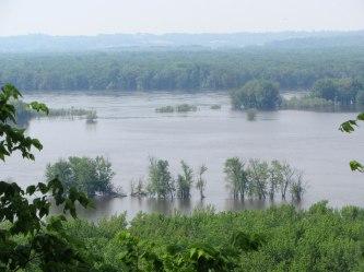 Mississippi River Overlook © 2014 Karen A Johnson